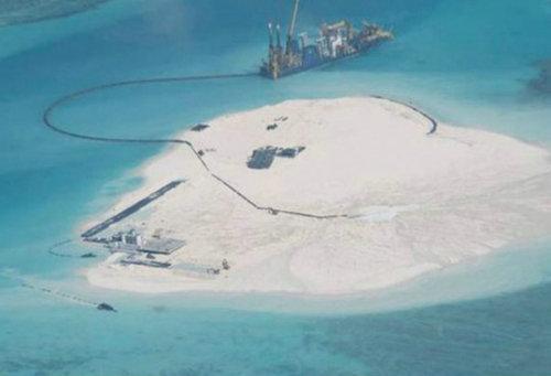 菲热炒中国在南海填海造陆 呼朋唤友联手阻止