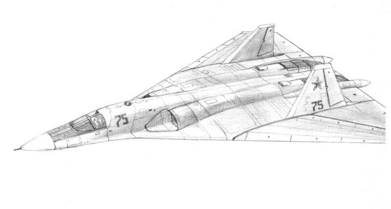 代号t-4ms下一代战略轰炸机早期方案