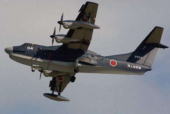 日本出口水上飞机:盼买家在东海南海问题支持